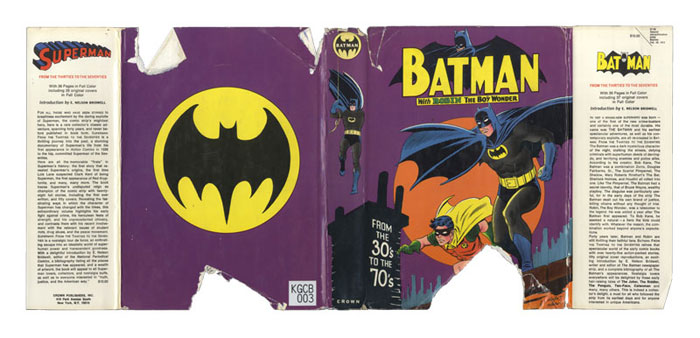 Batman from the 30�s to the 70�s